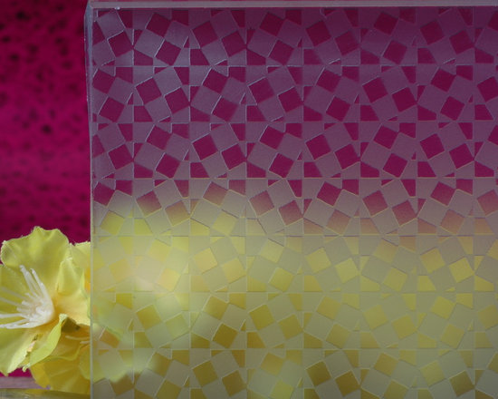 Our patterned glass -