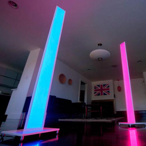 Tono Mc1 Wht Flr Led Floor Mood Lamp Koncept Modern
