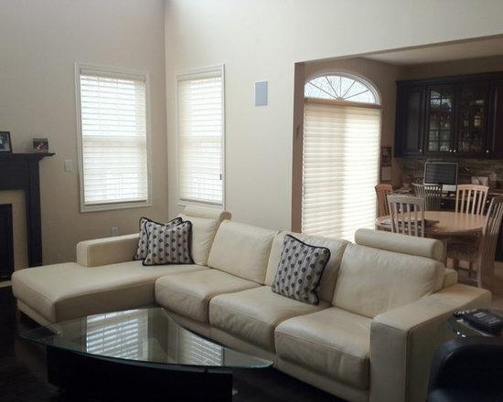 Hunter Douglas Silhouttes - Executed by Breslow Home Design www.breslow.com