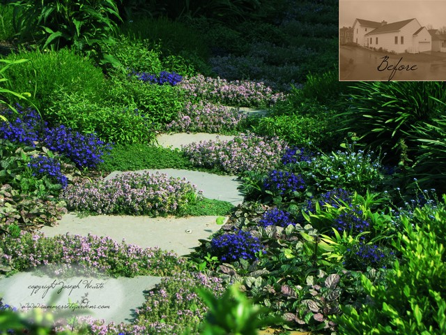 Garden Path Idea traditional landscape