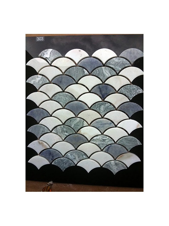 Stonica Urban Wave stone mosaic - spice up your kitchen with Stonica urban wave stone mosaic.