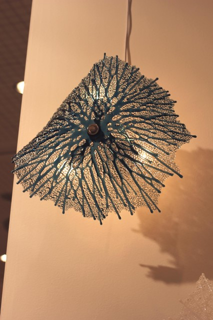 Sea Fan Sconce by Heather Palmer eclectic-wall-lighting