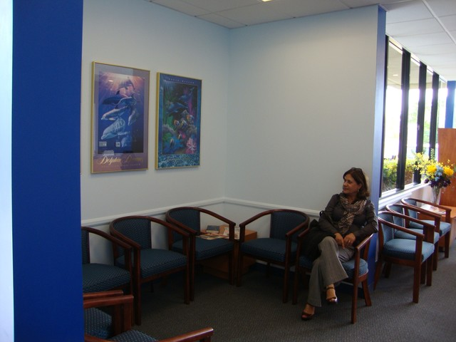 Ophthalmologist Clinic at Alicia Pkwy modern-home-office