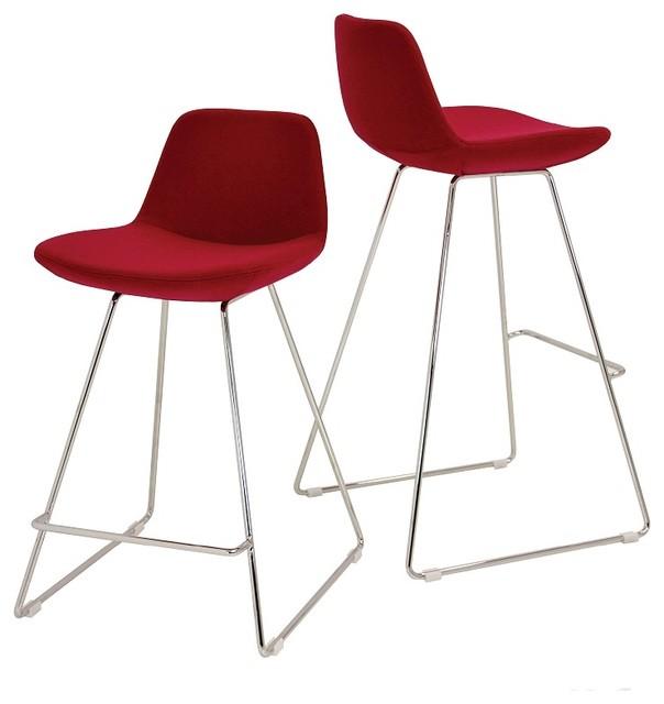 Pera Wire Counter Stools modern-bar-stools-and-counter-stools