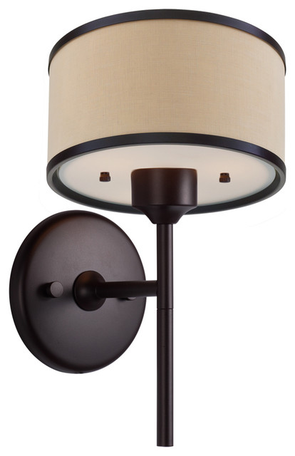 Dvi Lighting DVP5301MO-BTL One Light Wall Sconce modern-wall-lighting