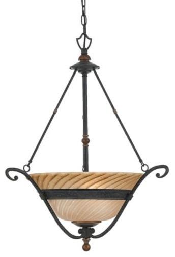 Genova Bowl Pendant traditional-pendant-lighting