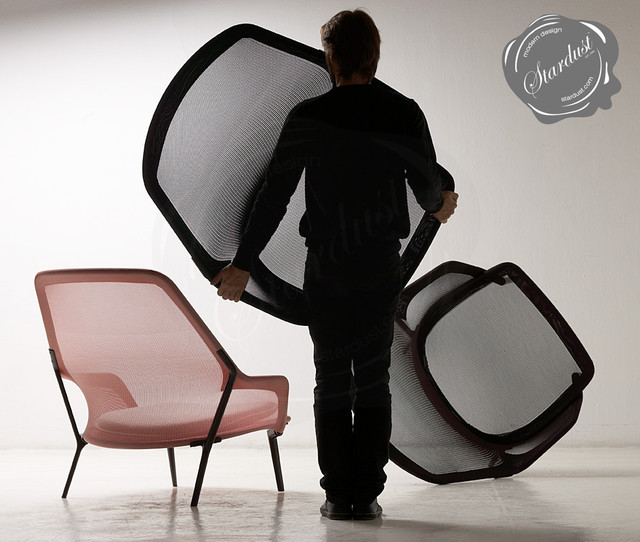 Vitra Slow Chair: Contemporary Modern Chaise Lounge Chair contemporary-armchairs-and-accent-chairs