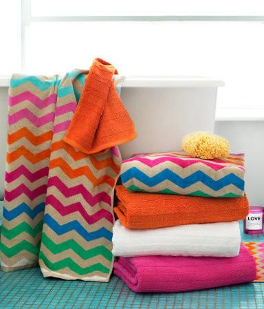 Shower Towel eclectic-towels
