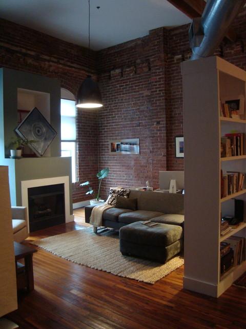 Castleberry Hill Loft contemporary-living-room