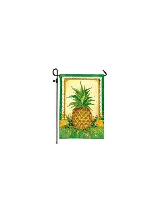 Pineapple and Pears Garden Flag -