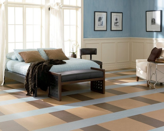Marmoleum brand linoleum sheet flooring from Forbo -
