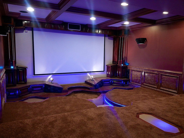 LED Home Theatre Lighting Modern Theater St
