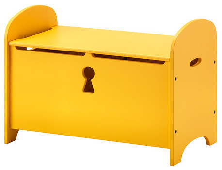 Trogen Storage Bench Yellow Contemporary Accent And Storage Benches By Ikea
