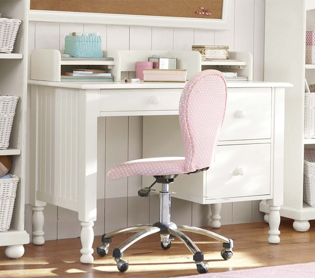 Catalina Storage Desk & Small Hutch - Desks And Hutches - san francisco - by Pottery Barn Kids