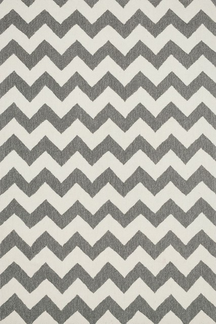 """Transitional Summerton Hearth 2'3""""x3'9"""" Hearth Ivory-Steel Area Rug transitional-rugs"""