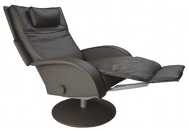 Lafer Nicole Swivel Recliner - Contemporary - Armchairs ...