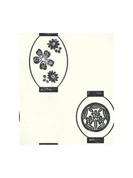 Kabuki Lanterns Wallpaper by Designers Guild -