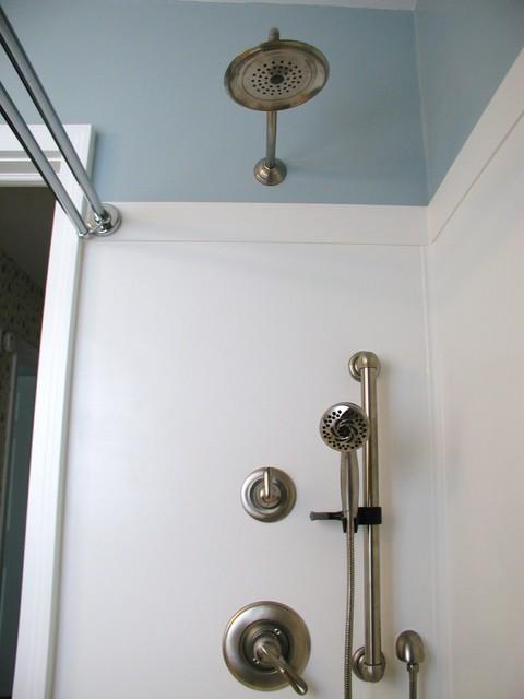 Bathroom with wainscoting bathroom