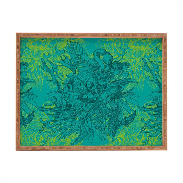 Geronimo Studio Amazonia Rectangular Tray eclectic-platters
