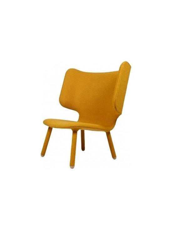 Tembo Lounge Chair, Yellow -