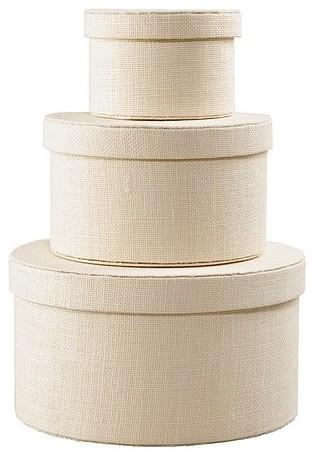 KVARNVIK Box, Set of 3, White modern-storage-bins-and-boxes