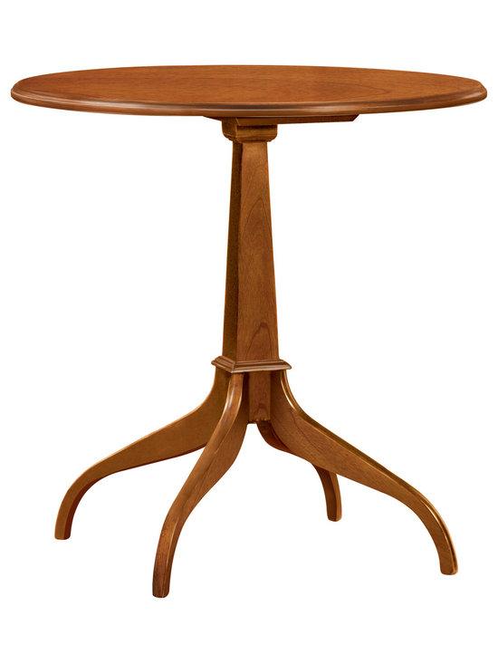 Stickley Round Pedestal Table 4130 -