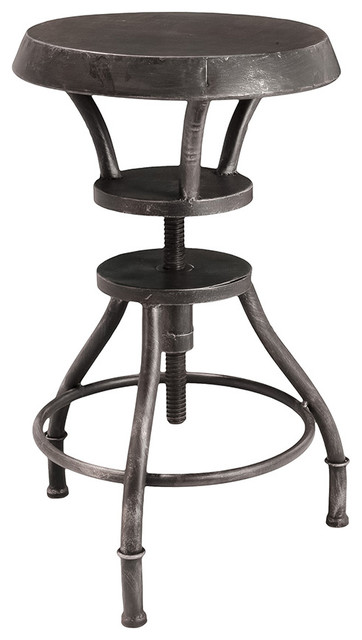 Austin metal bar stool industrial bar stools and for Industrial design bar stools