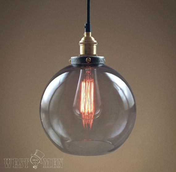 Glass Globe Pendant Lamp Bubble light orb Lighting