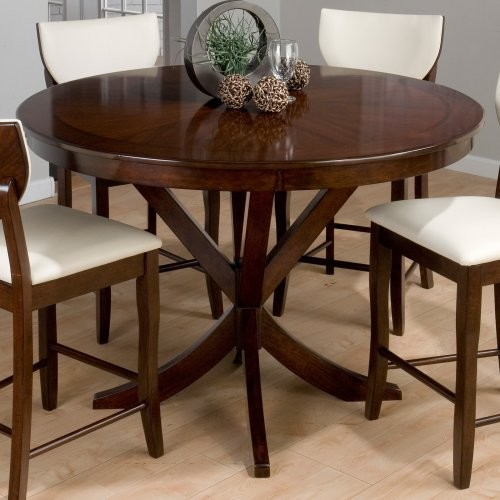 Jofran Satin Street Round Counter Height Table modern-dining-tables
