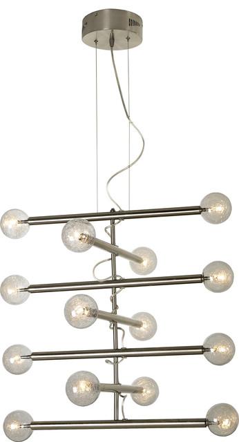 Trend Lighting TP3700-14 Mira 14-Light Chandelier modern-chandeliers