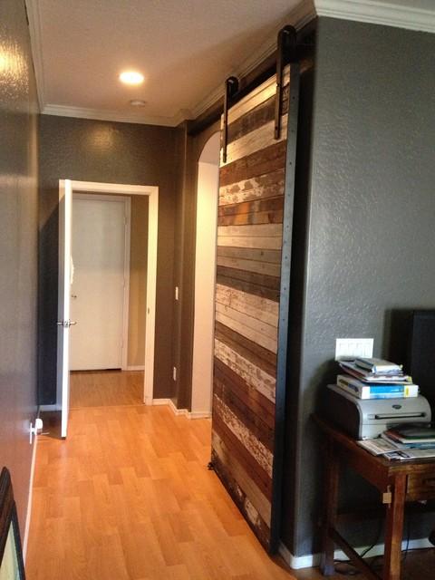 Sliding Barn Door Reclaimed Mixed Beadboard Contemporary Interior Doors Phoenix By