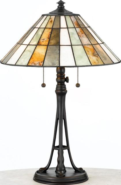 Quoizel Lighting JD601TVA 2 Light Desk Lamp Jade Collection table-lamps