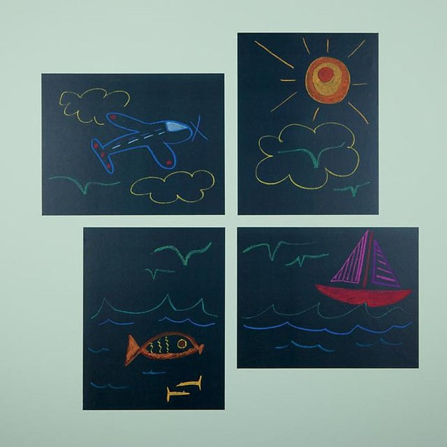 Chalkboard It Up Decals contemporary-kids-wall-decor