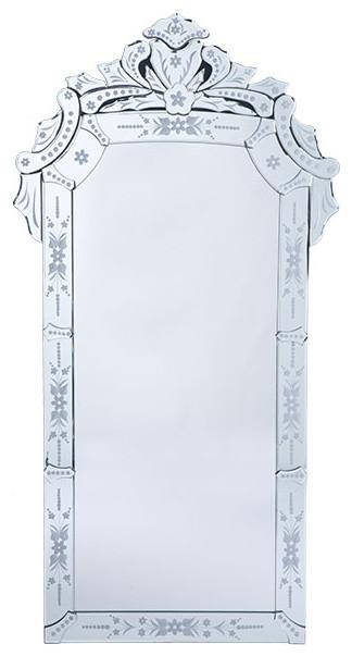 Venetian Glass Mirror traditional-mirrors
