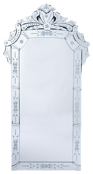 Venetian Glass Mirror traditional