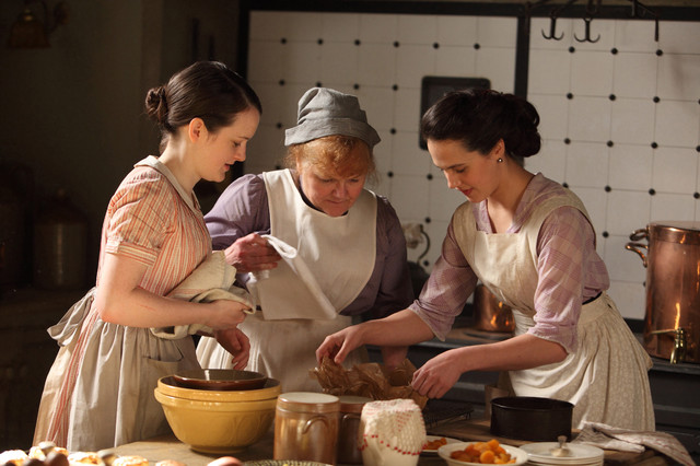Downton Abbey: In the kitchen