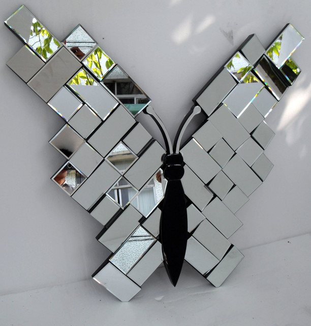 Decorative wall mirrors and mirrored furniture other metro by rongjing wall mirror - Home decor wall mirrors collection ...