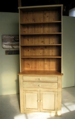 Solid Pine Living Room Hutch