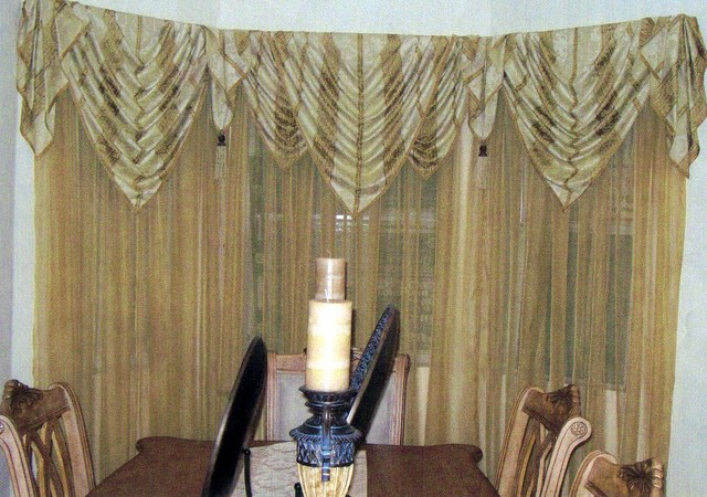 ... Jabots Window Treatments. on pictures different ways to swag curtains