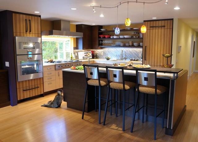 Urban Camouflage Modern Kitchen Seattle By Crd Design Build