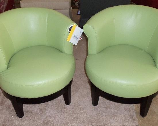 Customer Custom Orders - Best Swivel barrell Chair