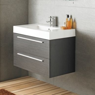 Ultra Silhouette Basin And Cabinet Contemporary Bathroom Vanities And Sink Consoles Other