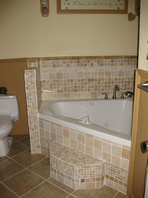 Walk-in Shower and Jacuzzi Tub - eclectic - other metro - by Lone
