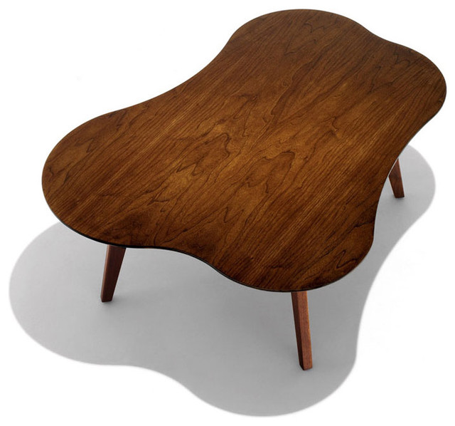 Risom Amoeba Shaped Coffee Table  coffee tables