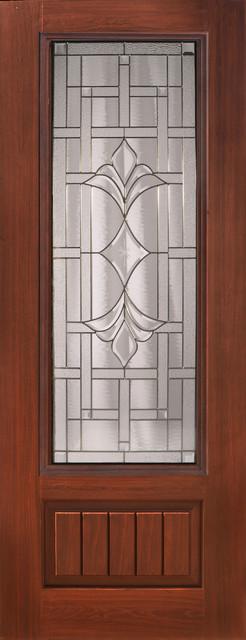 Marsala Fiberglass Front Door front-doors