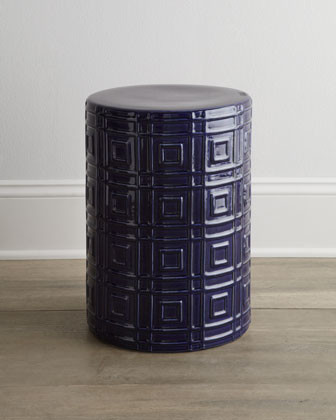 Embossed Garden Stool traditional-patio-furniture-and-outdoor-furniture