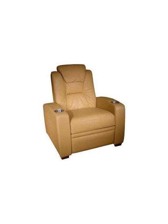 Coja Barchetta - The Coja Barchetta is a high end theater seating model made in Canada. This theater seating has incredible head support and very plush padding for comfort.