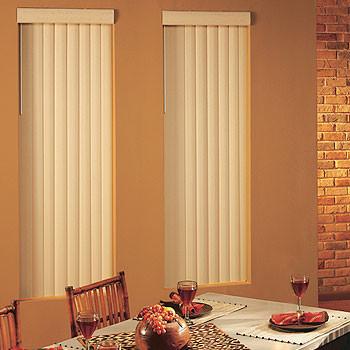 Blindsgalore Fabric Vertical Blinds: Premium Textures II contemporary-vertical-blinds