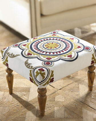 Jamie Young Mackie Stool traditional-ottomans-and-cubes