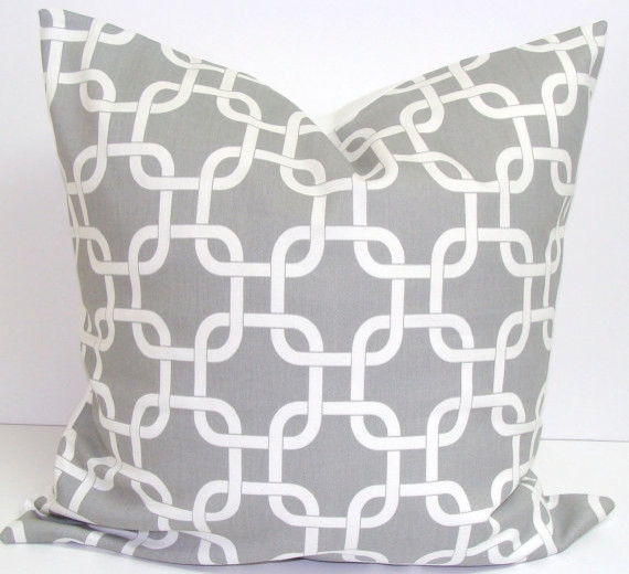 Gray Pillow Cover by Elemen O Pillows modern pillows
